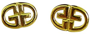 Givenchy VINTAGE GIVENCHY 80s Logo Signed Earrings