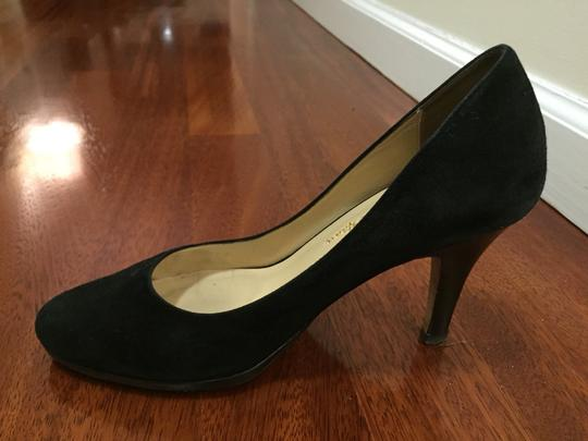 Cole Haan Suede Black Pumps