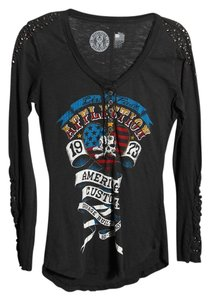 Affliction T Shirt * Dark Gray