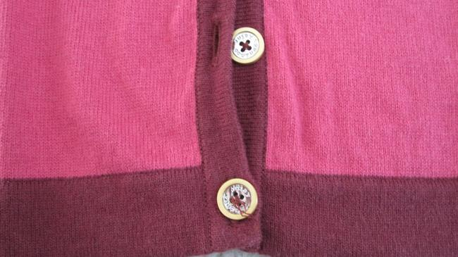 Juicy Couture Nautical Preppy Silk Cashmere Cardigan