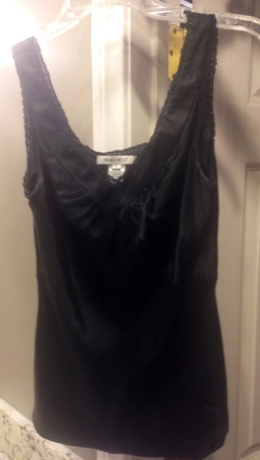 Nine West Office Work Attire Night Out Top Black