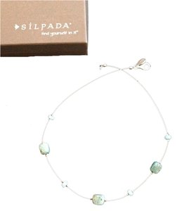 Silpada Silpada Sterling Silver Turquoise Necklace