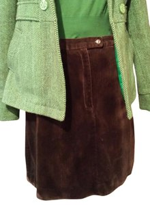 Liz Claiborne Size 12 Corduroy Thick Corduroy Liz Sport On Tradesy Mini Skirt Brown