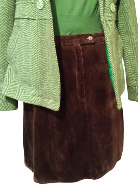 Liz Claiborne Size 12 Corduroy Thick Corduroy Sport On Tradesy Mini Skirt Brown