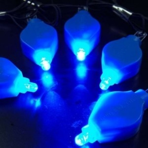 Blue Lot Of 50 Led Floral Submersible Lights Free Shipping Never Used Wholesale Led Lights Wholesale Submersible Reception Decoration