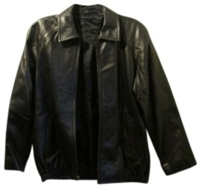 LNR for Nordstrom black Leather Jacket