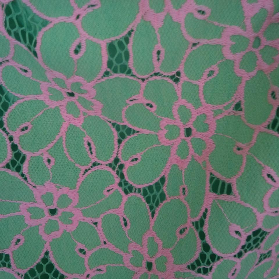 f1aabce33 Lilly Pulitzer New Green New. Lace Skirt Size 8 (M, 29, 30) - Tradesy