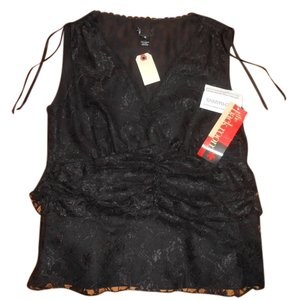 Love2skiVT Formal Top Black Lace