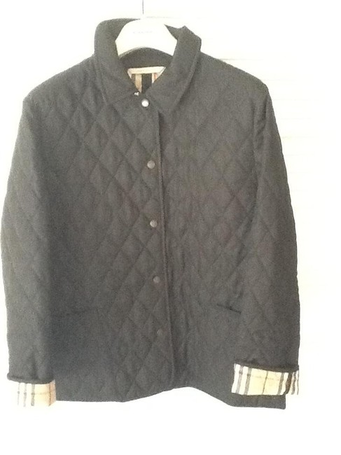 Item - Black Copford Quilted Jacket Size 8 (M)