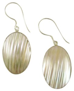 Island Silversmith Island Silversmith Tropical Turbo Shell 925 Sterling Silver Earrings 0401E *FREE SHIPPING*