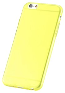 """Other Yellow - IPhone 6 4.7"""" TPU Rubber Gel Ultra Thin Case Cover Transparent Glossy 10 Colors Available"""