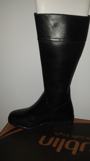Dublin Leather Riding Equestrian Black Boots
