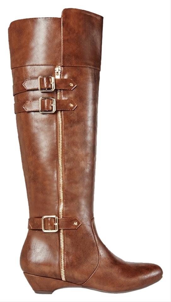 JustFab Brown Boots Artemine Size 10 12% Off | JustFab