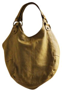 Tano Leather Satchel Hobo Bag