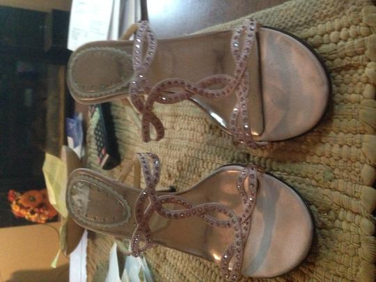 BP. Clothing Pink Crystals Infinity Light pink Pumps