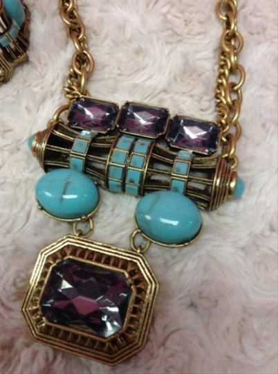 Ann Taylor LOFT Loft Bracelet Necklace Set