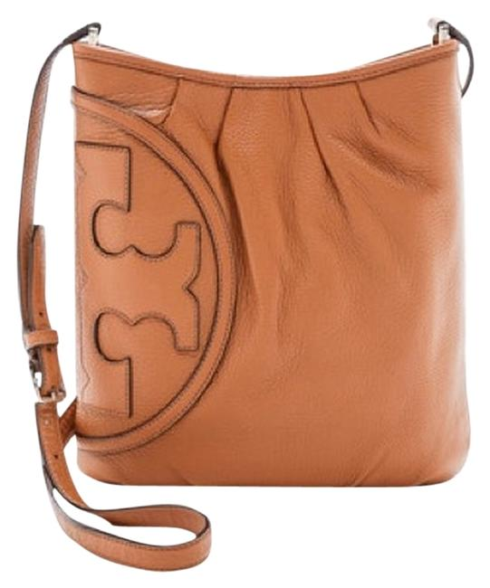 Item - T All-t Swingpack New Bark Brown Tan Leather Messenger Bag