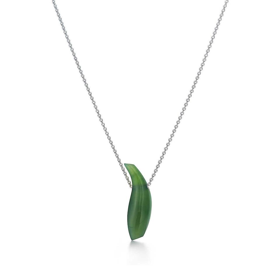 Tiffany co jade frank gehry fish and pernambuco wood fish tiffany co frank gehry tiffany co jade fish necklace and pernambuco aloadofball Choice Image