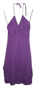 Catherine Malandrino short dress Purple Summer Bridal Shower Silk on Tradesy