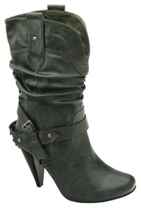 Red Circle Footwear Olive Boots