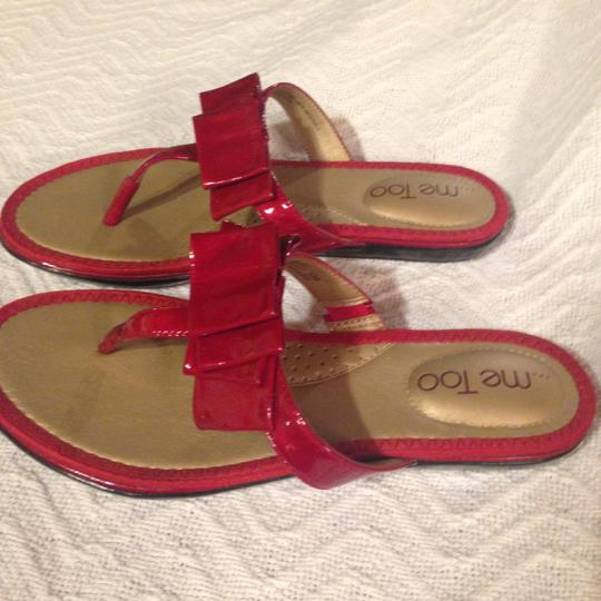 Me Too Red Sandals