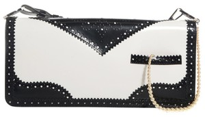 Dior Black White Clutch