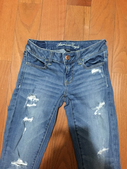 American Eagle Outfitters Jeggings-Medium Wash