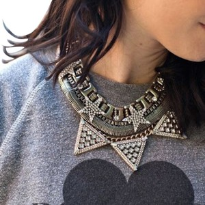 BaubleBar Baublebar Warrior Triad Necklace
