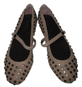 Barneys New York Suede Flats