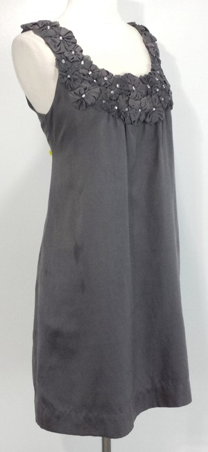 Yoana Baraschi short dress Grey Silk on Tradesy