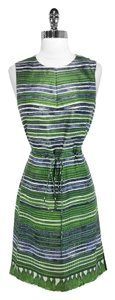 Hugo Boss short dress Green Silk on Tradesy