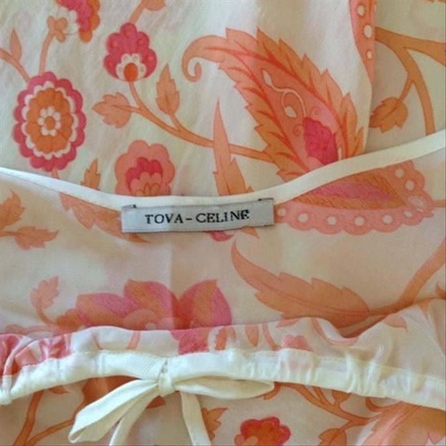 Tova Celine Silk Bias-cut Lightweight Floral Dress