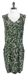 GERARD DAREL short dress Green Silk on Tradesy