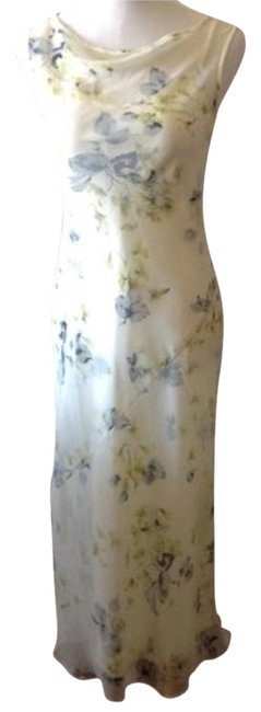 BCBGMAXAZRIA Bias Cut Slip Sheath Silk 2 Piece Dress Image 0