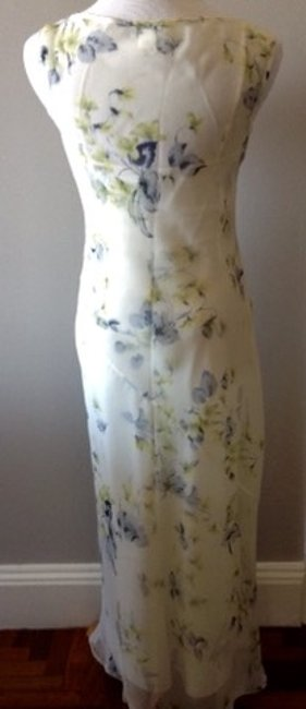 BCBGMAXAZRIA Bias Cut Slip Sheath Silk 2 Piece Dress Image 5