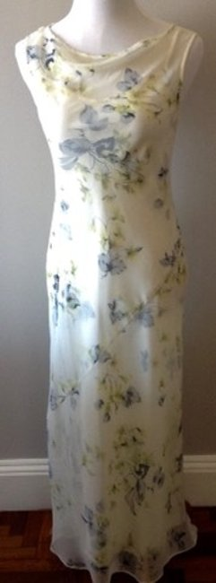 BCBGMAXAZRIA Bias Cut Slip Sheath Silk 2 Piece Dress Image 6