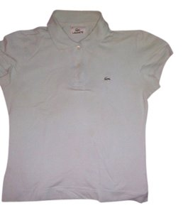 lacoste Longchamps Paris Tennis Chic Cotton T Shirt light blue