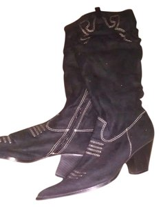 Cow Boy Texas Winter black Boots