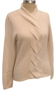 Evelyn Grace Cable Knit Cream Designer Sweater