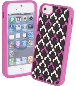Vera Bradley New! Vera Bradley Soft Frame Case for iPhone 5 Canterberry Magenta