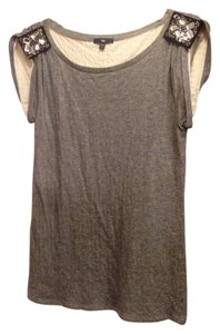 Gap Top Heather Grey