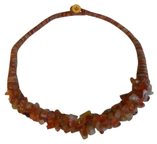 one of a kind agate necklace