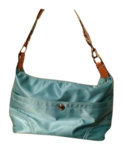 Coach Tote in Aqua blue