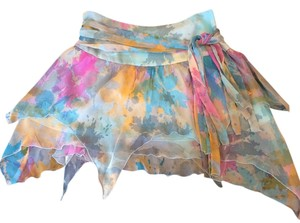 A.B.S. By Allen schwartz Mini Skirt Colorful