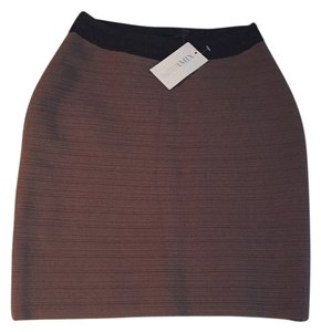 Cut25 Mini Skirt Tan