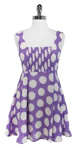Alice + Olivia short dress + Polka Dot on Tradesy