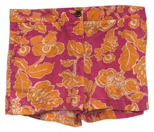 Ann Taylor LOFT Mini/Short Shorts Pink, Orange, White