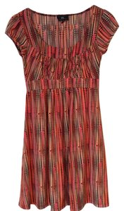 IZ Byer California short dress Multicolor Spring Cap Sleeve on Tradesy