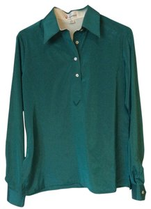 Copperfield Vintage Classic Button Down Shirt Emerald