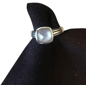 Lagos Lagos Sterling Silver and Mother of Pearl Size 7 Ring